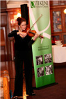 Perfomance with a violin