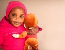 Baby with Teddy-bear 2