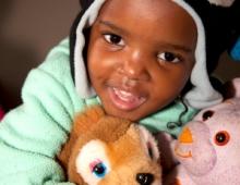 Baby with Teddy-bear 1