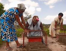 Women working hard