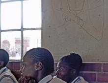 Children in classrooms