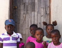Children by the door