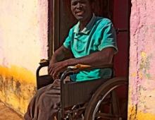 Man in a wheelchair 3
