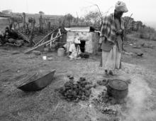 Woman in rural setting 2