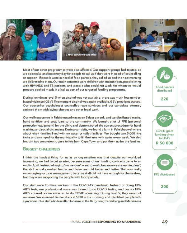 Cederberg Matsikama AIDS Network